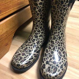 Capelli Cheetah Rain boots